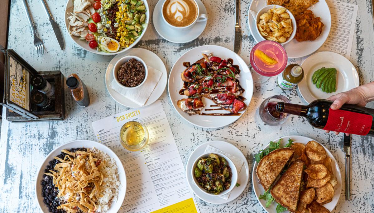 Dish Society table spread