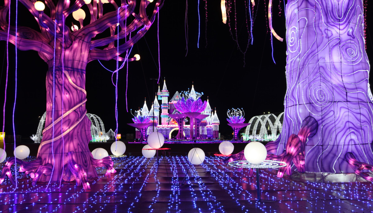 Magical Winter Lights holiday festival in La Marque, Texas
