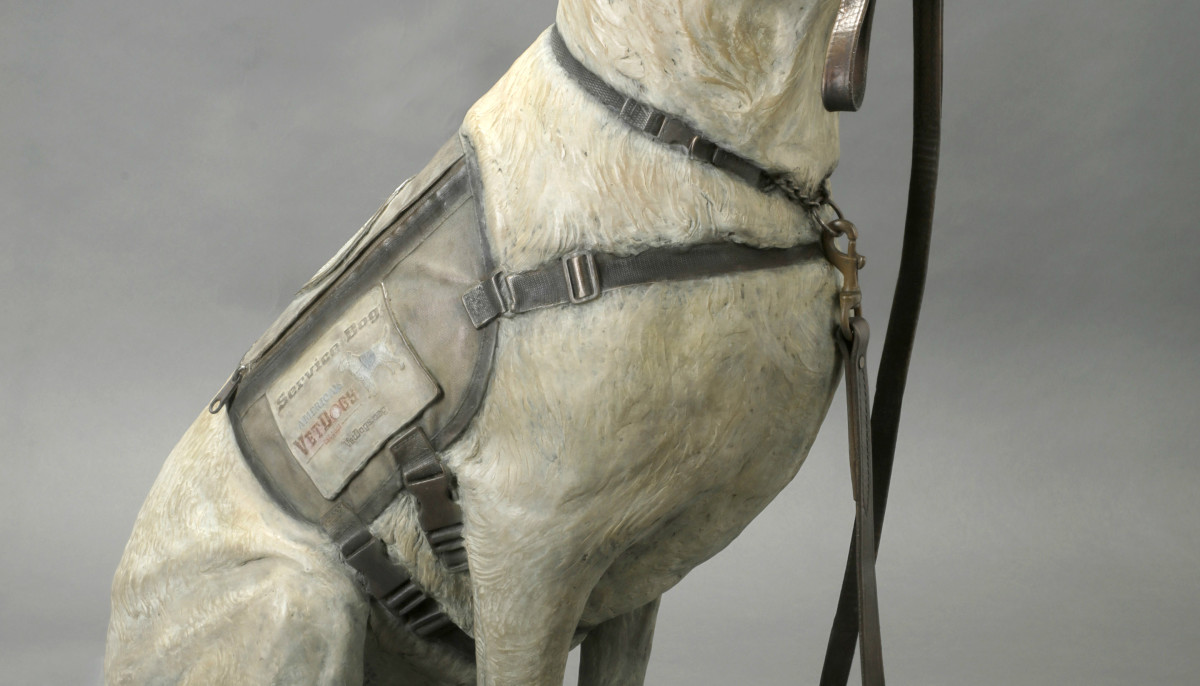 President George H.W. Bush's beloved service dog honored with statue