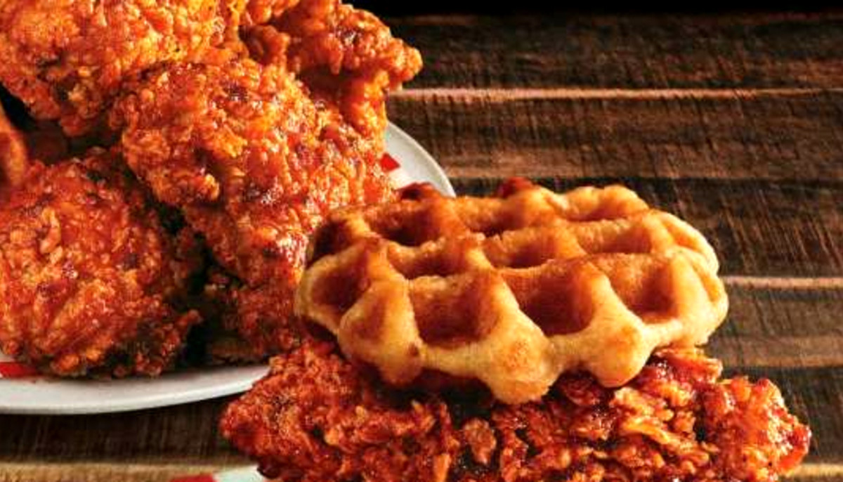 KFC heats up with new Nashville Hot Chicken & Waffles Sandwich