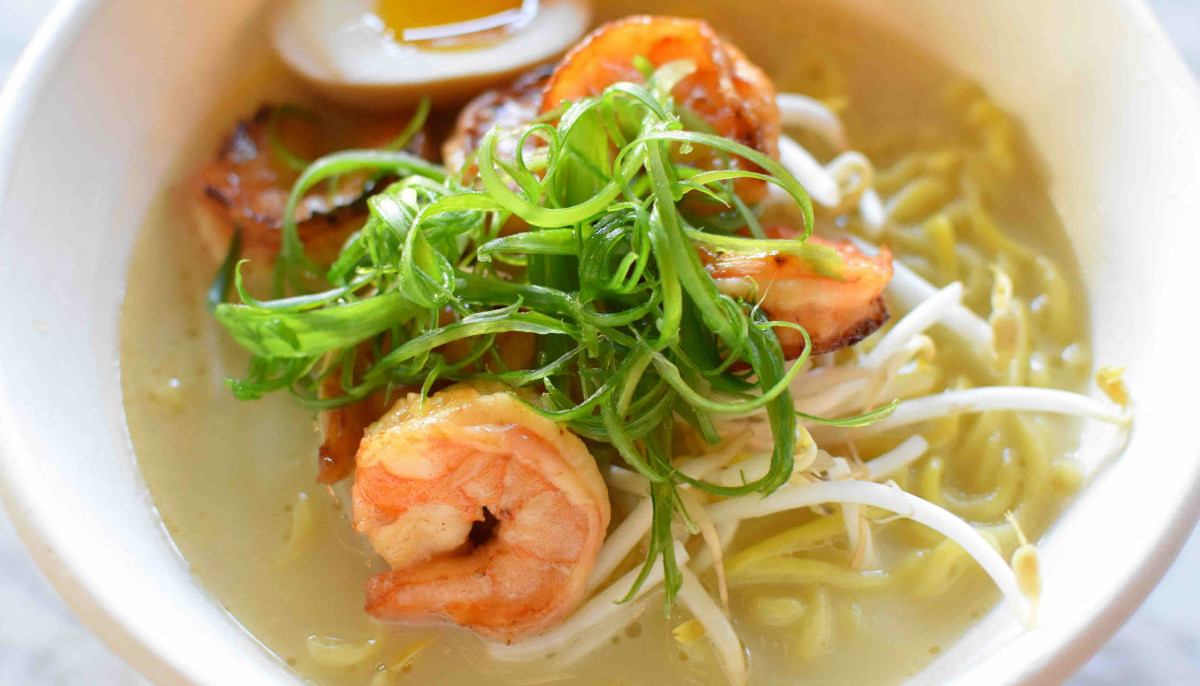 New Japanese restaurant at Plano food hall serves a fried chicken ramen
