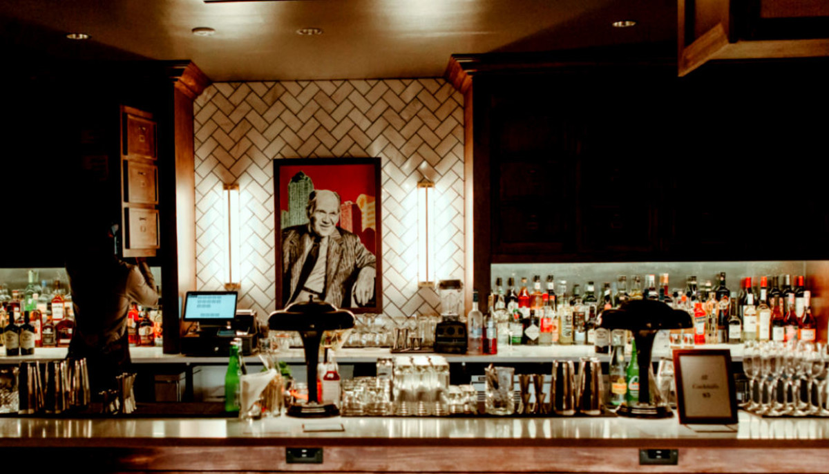 It's members only at this downtown Dallas co-working speakeasy bar