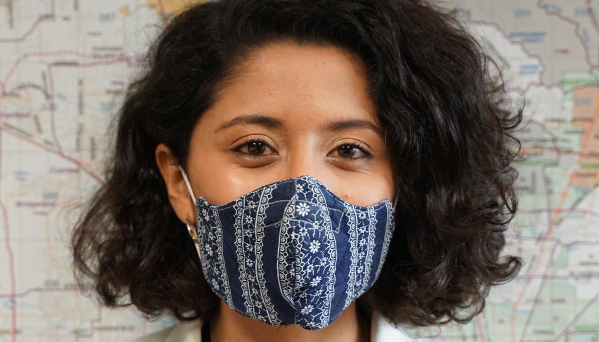 Lina Hidalgo face mask