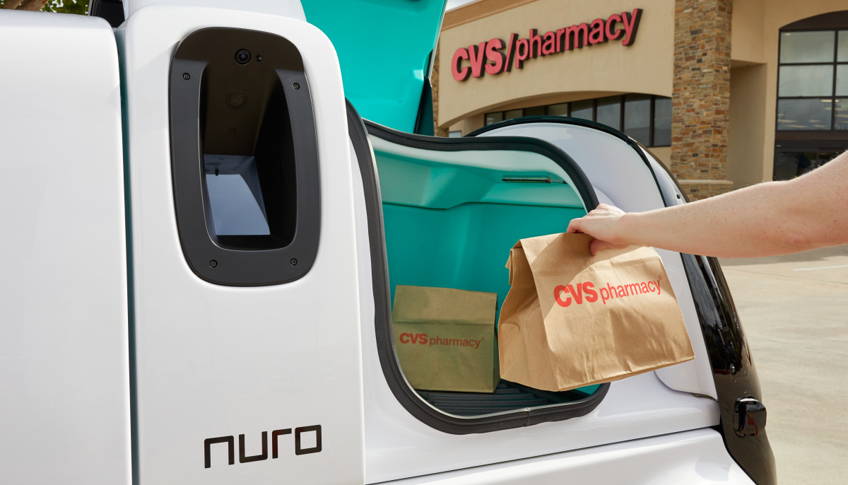 Free, driverless prescription drug delivery set to roll out in Houston