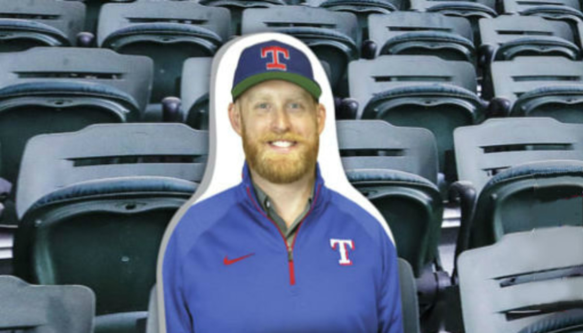 Texas Rangers will let fans prop up their own cardboard cutout in stadium