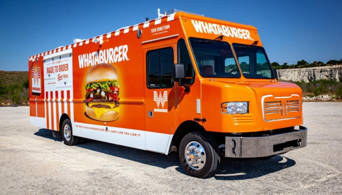Whataburger food truck