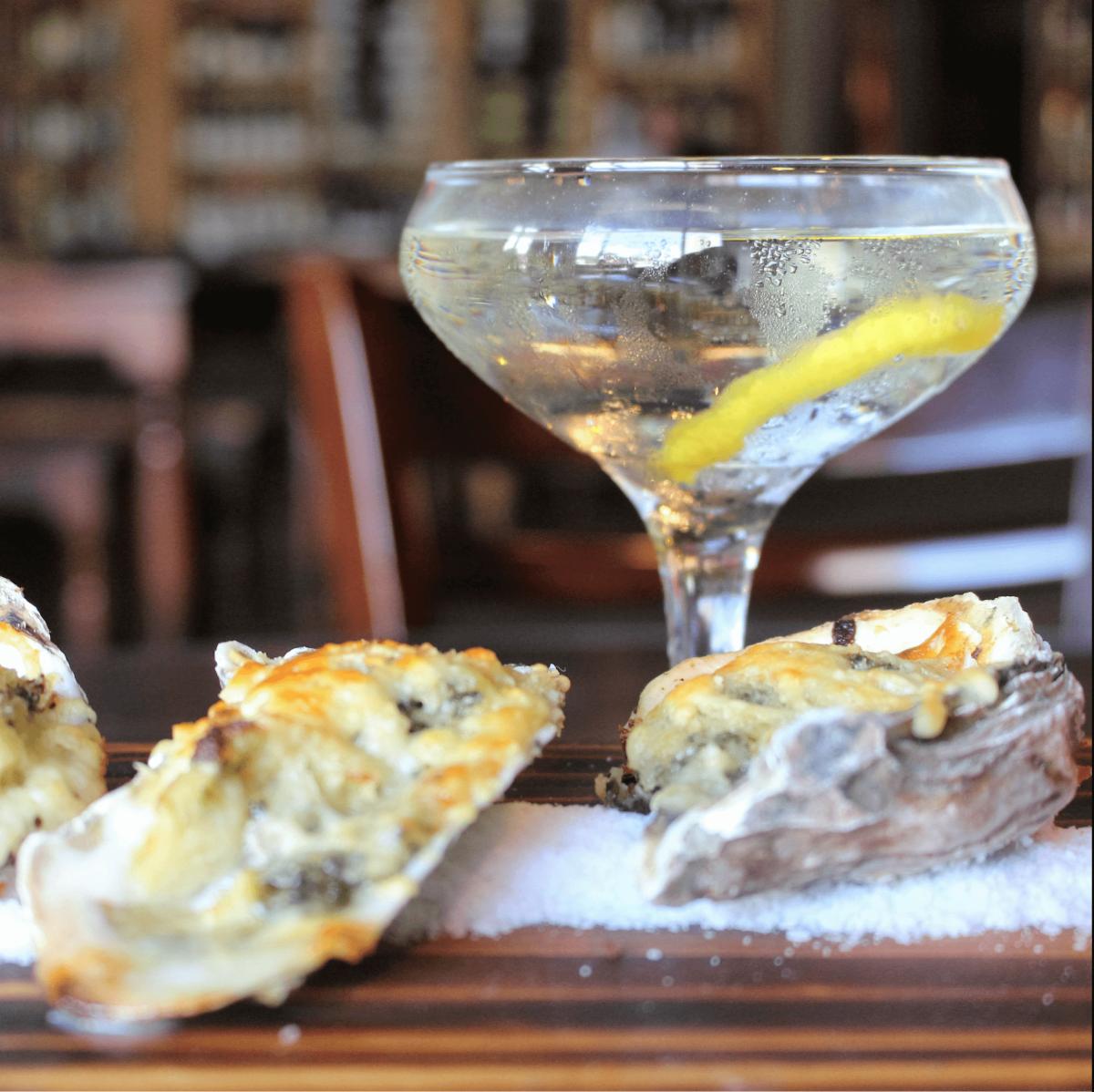 Tasting Room oysters