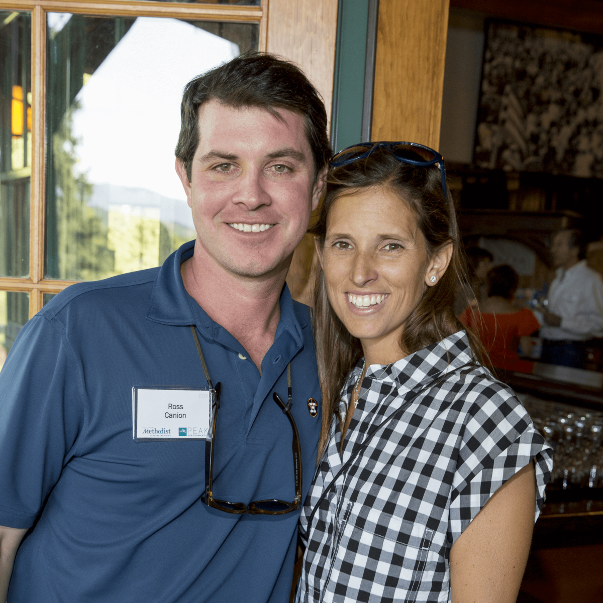 Houston Methodist in Aspen, July 2016, Ross Canion, Jane Canion