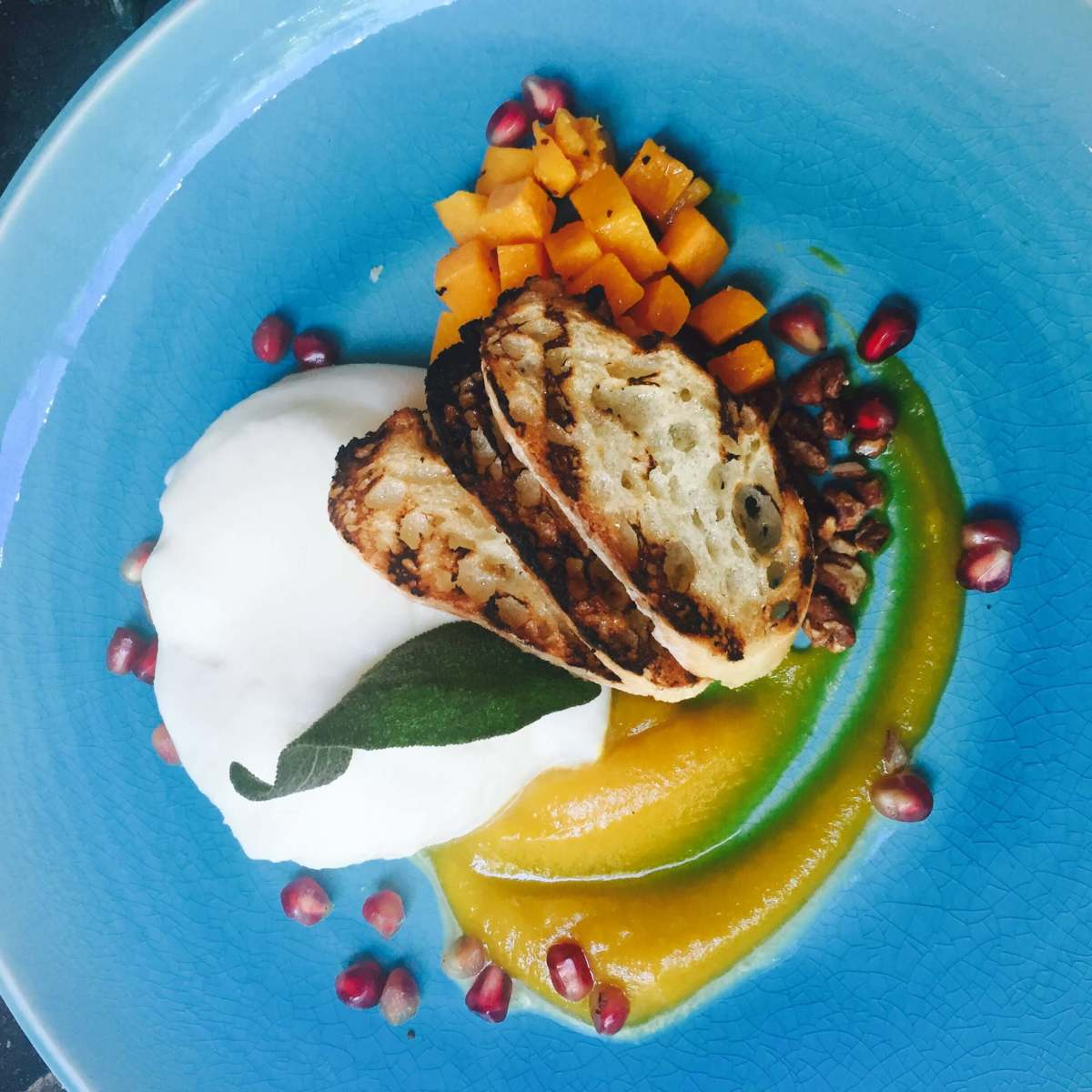 Parigi Dallas butternut burrata