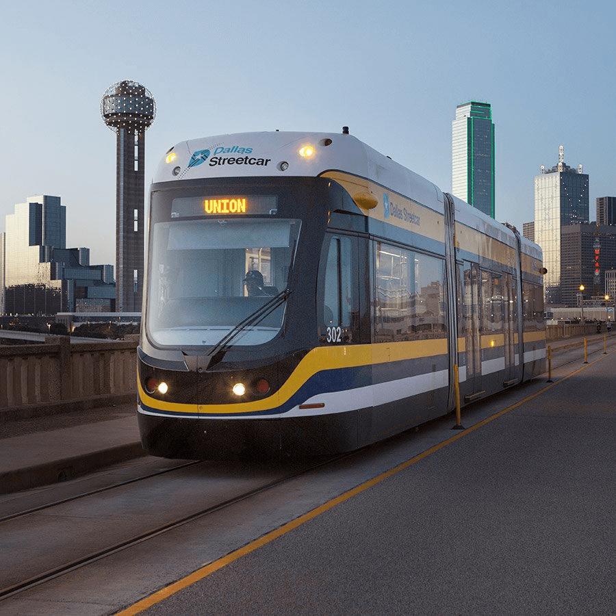 Dallas streetcar, Bishop Arts, trolley