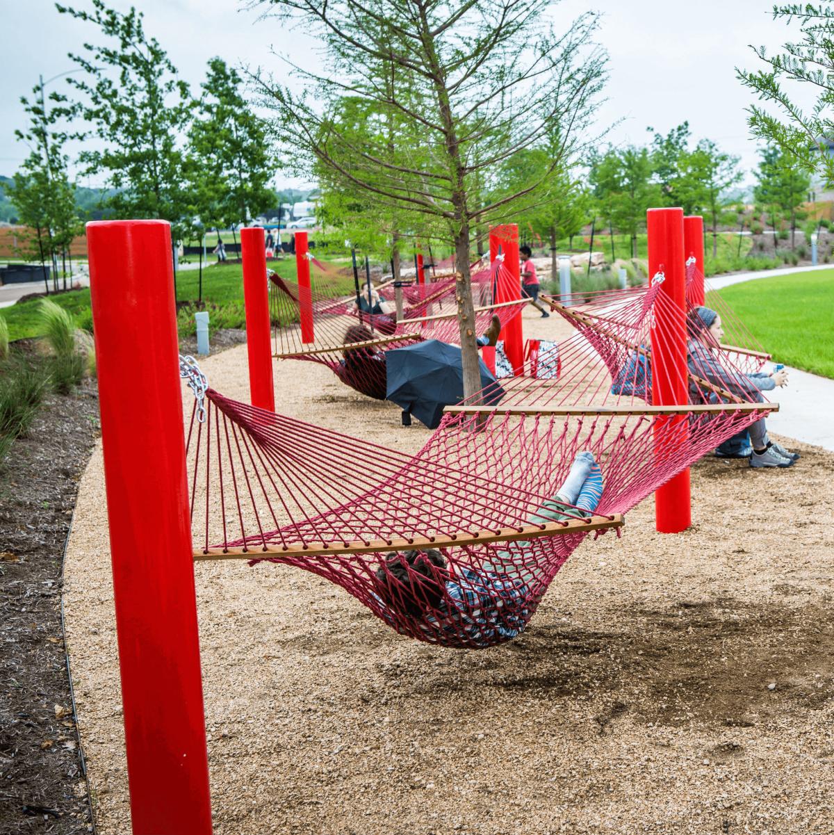 Easton Park development Austin park hammock