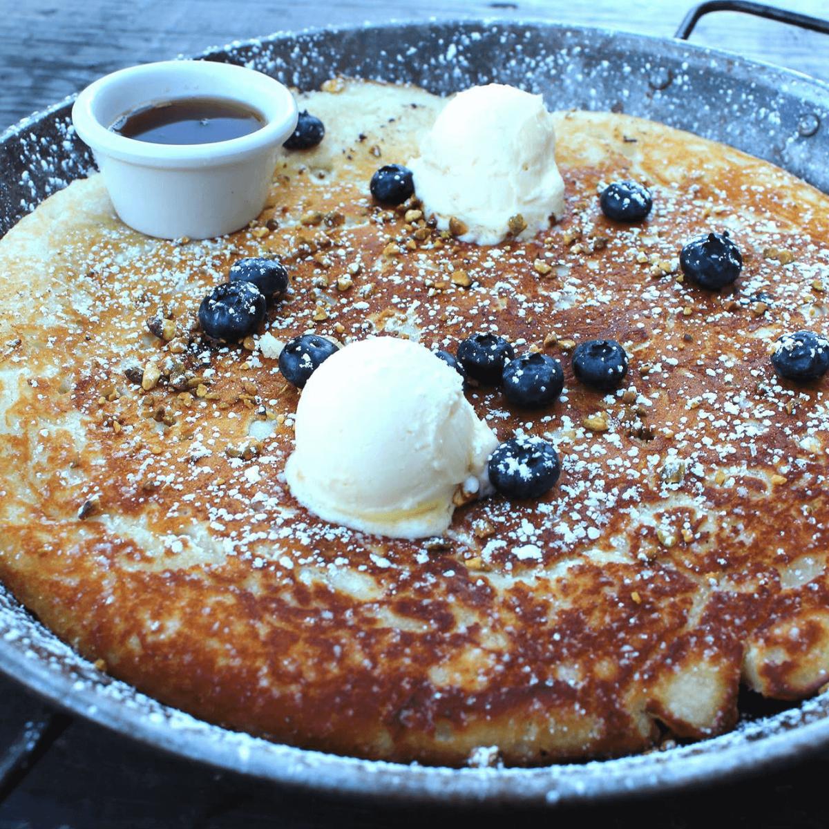Mash'd restaurant manhole pancake