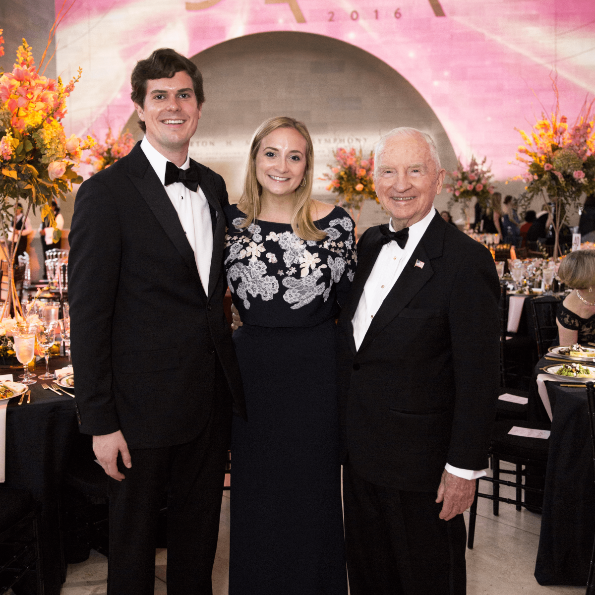 Reed Ruschhaupt, Sarah Catherine Perot, Ross Perot