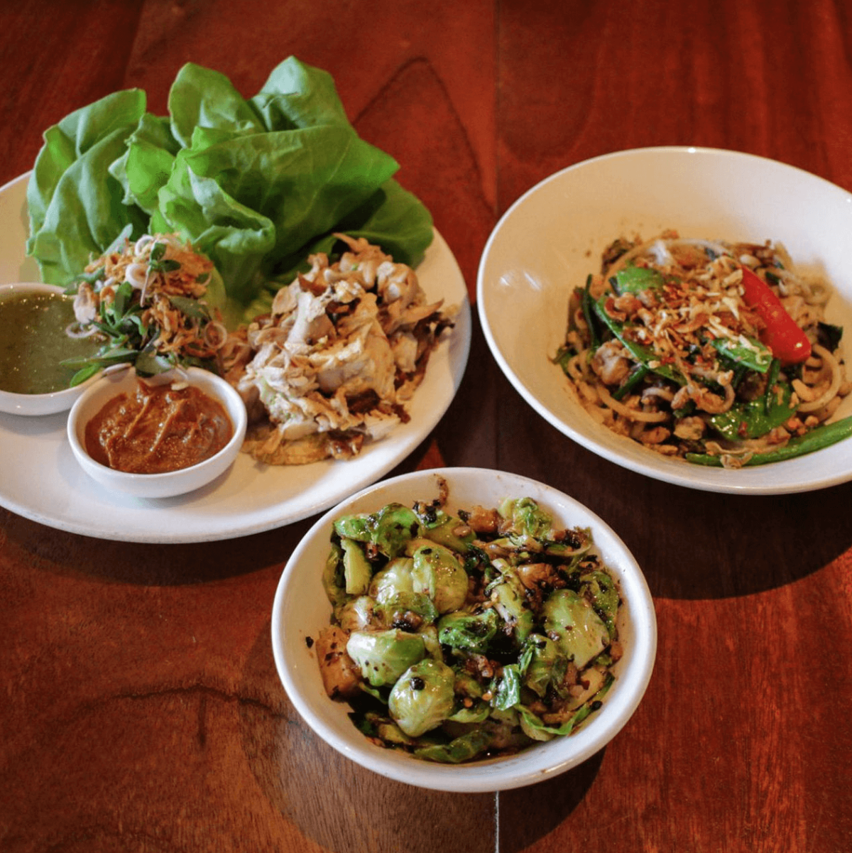Sway Thai Restaurant Austin fall menu 2016