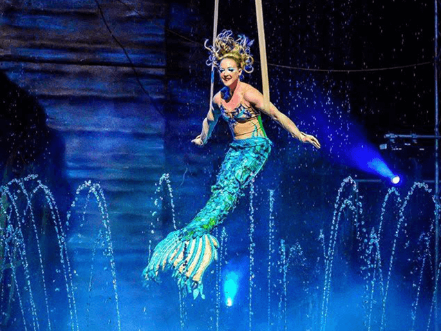 Aquatic Spectacular  Cirque Italia