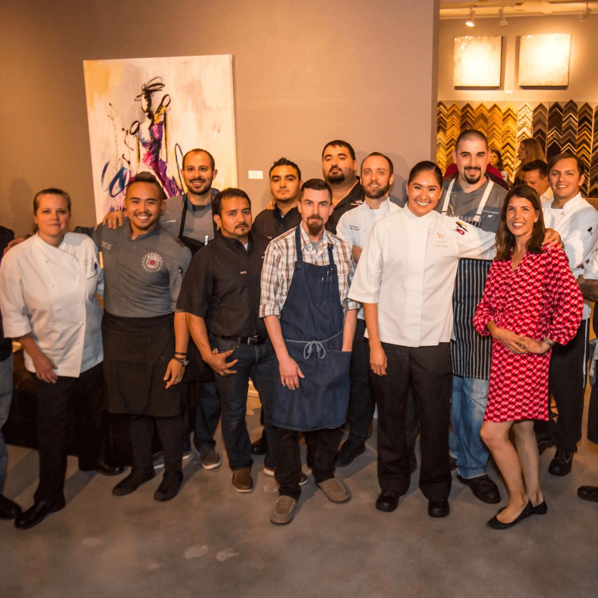 Art Bites 2016 chefs
