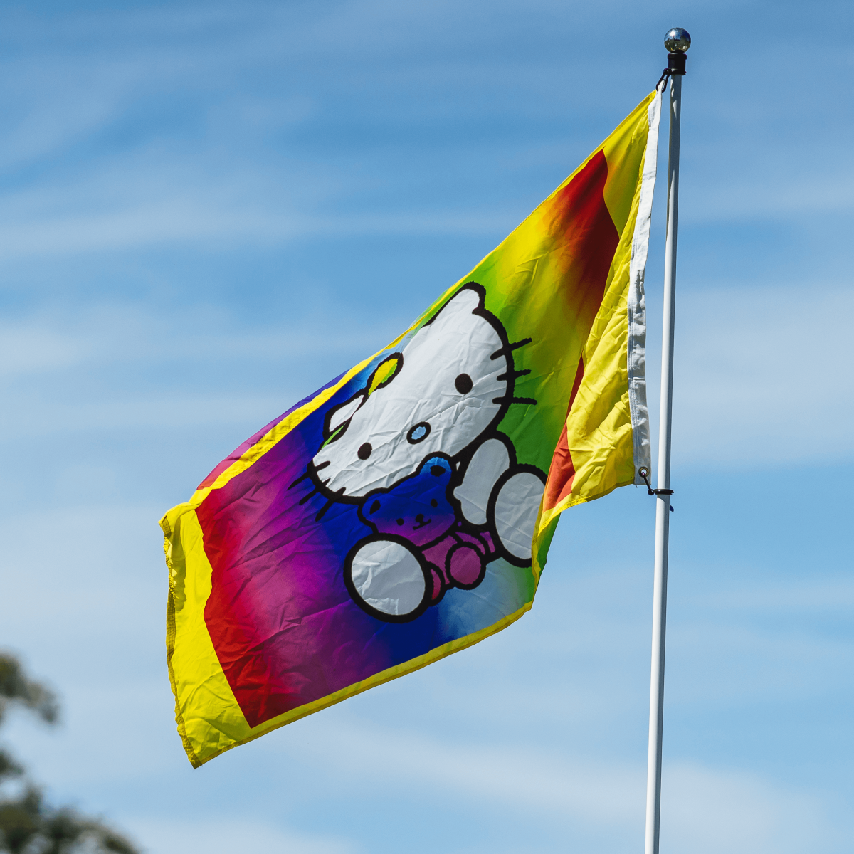 ACL Austin City Limits Music Festival 2016 flags Hello Kitty
