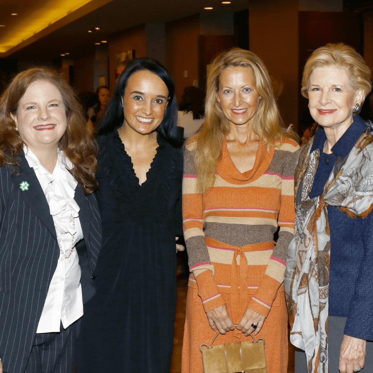 Paige McDaniel, Jonna Clarke, Lynn McBee, Karen Prothro - Community Partners