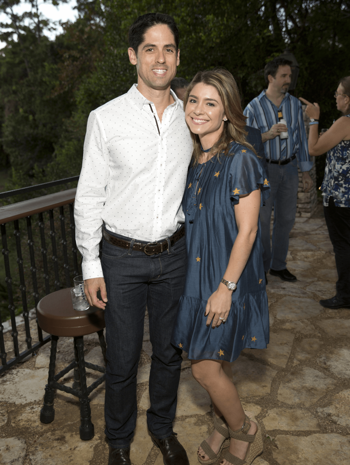 Houston, Bayou Preservation Association 50th anniversary gala, Oct. 2016, Jason Volz, Rachael Volz