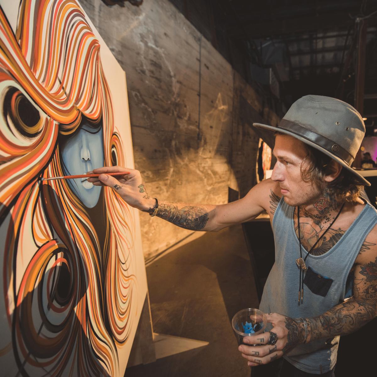 Pop Austin International Art Show 2016 Jason Eatherly