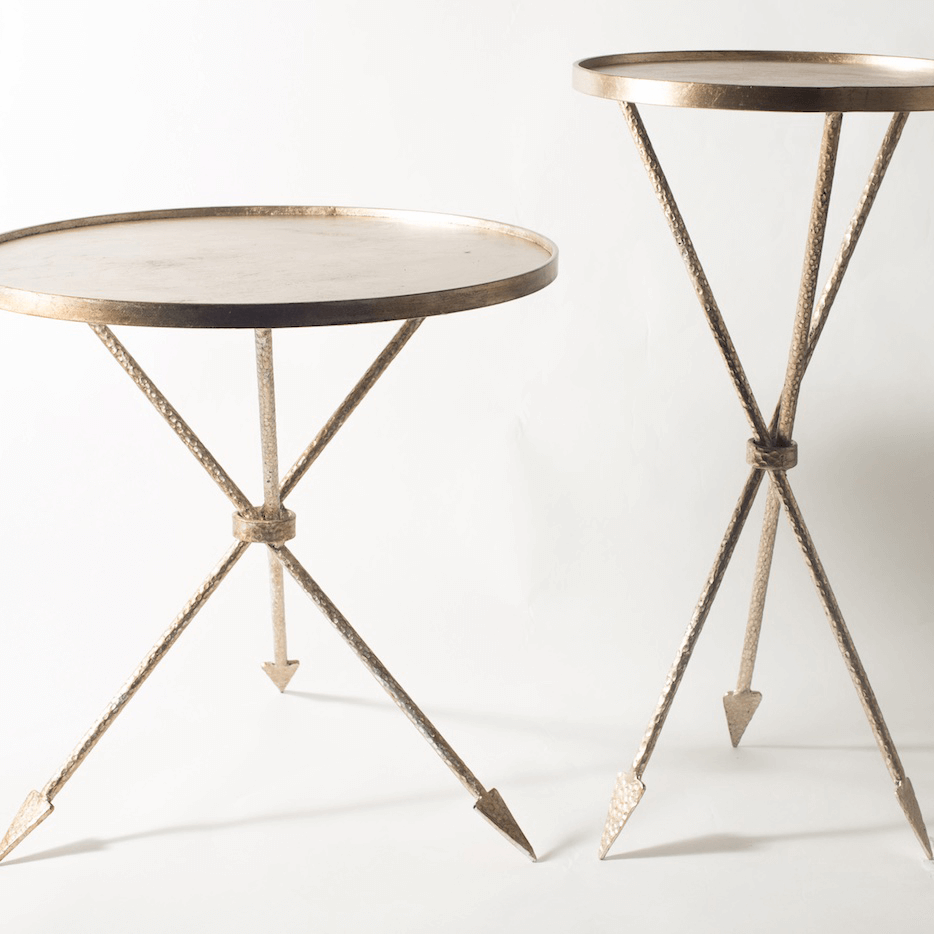 Rachel Horn interior designer Assisi tables
