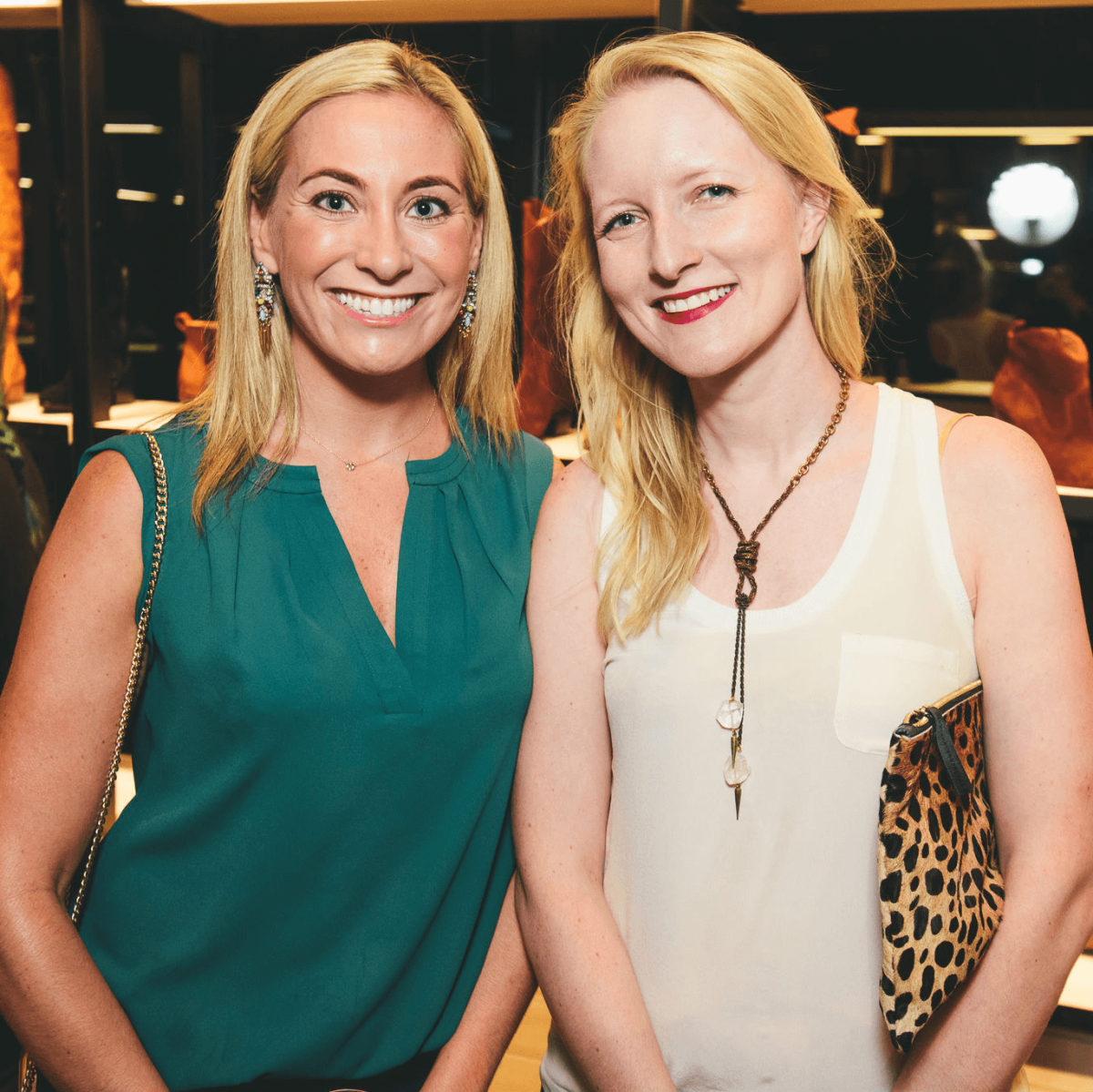 The Frye Company Austin grand opening 2016 Sara Skirboll Ellen Miller