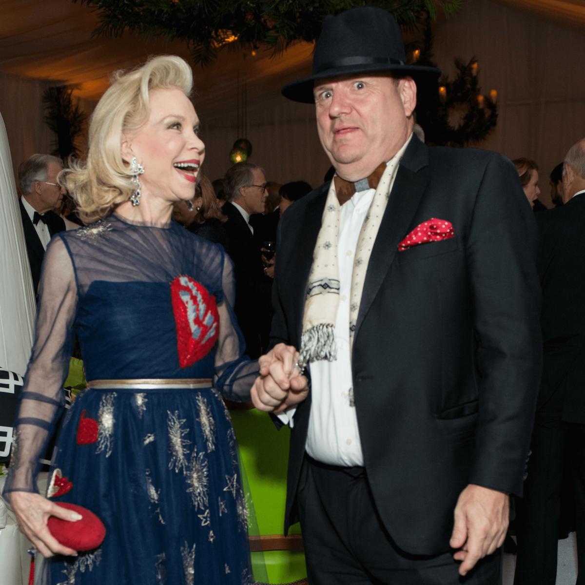 Jones Hall 50th Ball, Lynn Wyatt and Perryn Leech