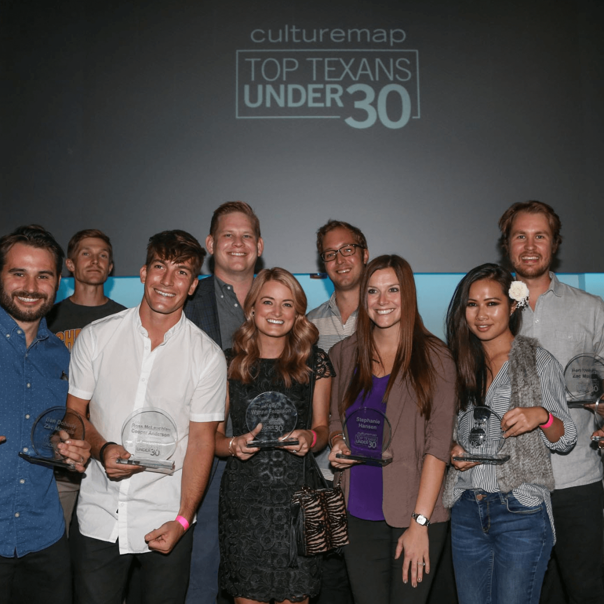 CultureMap Social Top Texans Under 30 Winners