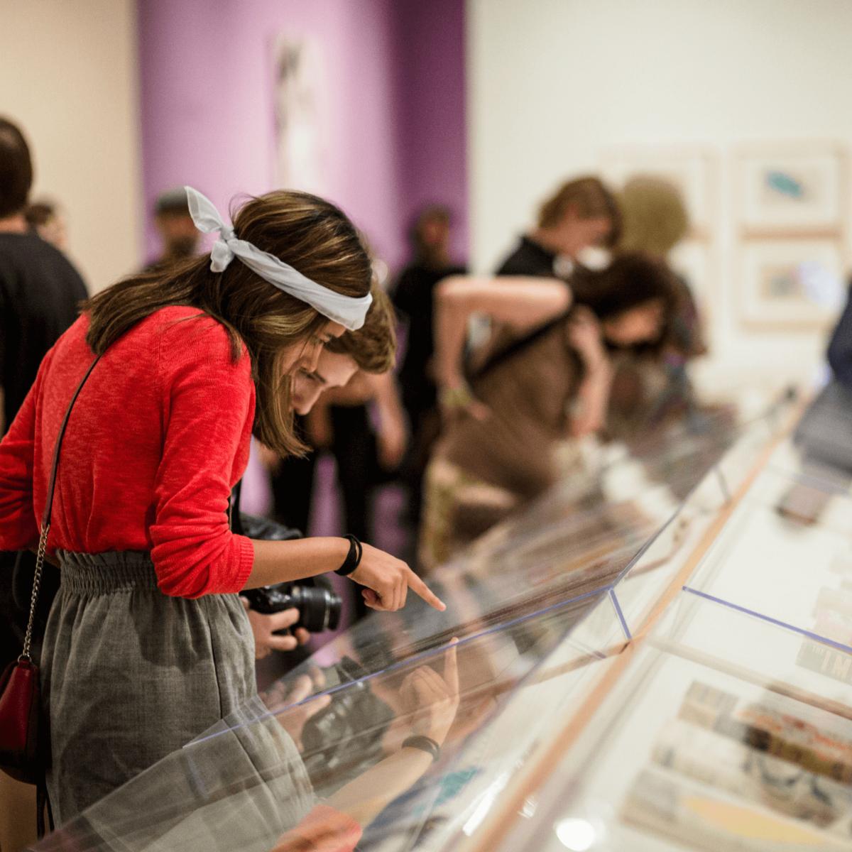 Blanton Museum of Art B Scene Inevitable Warhol Happening 2016 exhibition