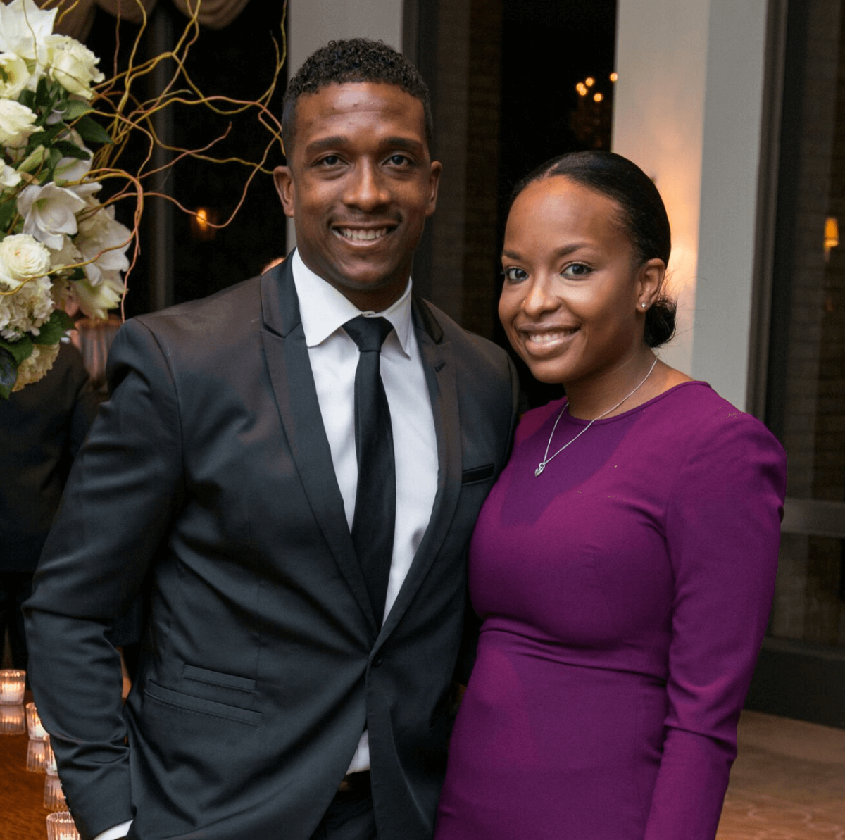 Jered Dillard, Sarita Dillard at Rice Honors Gala