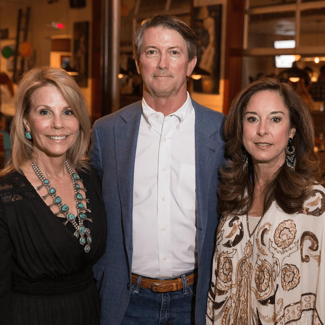 Anne Reeder, Steve & Cathy Saxon