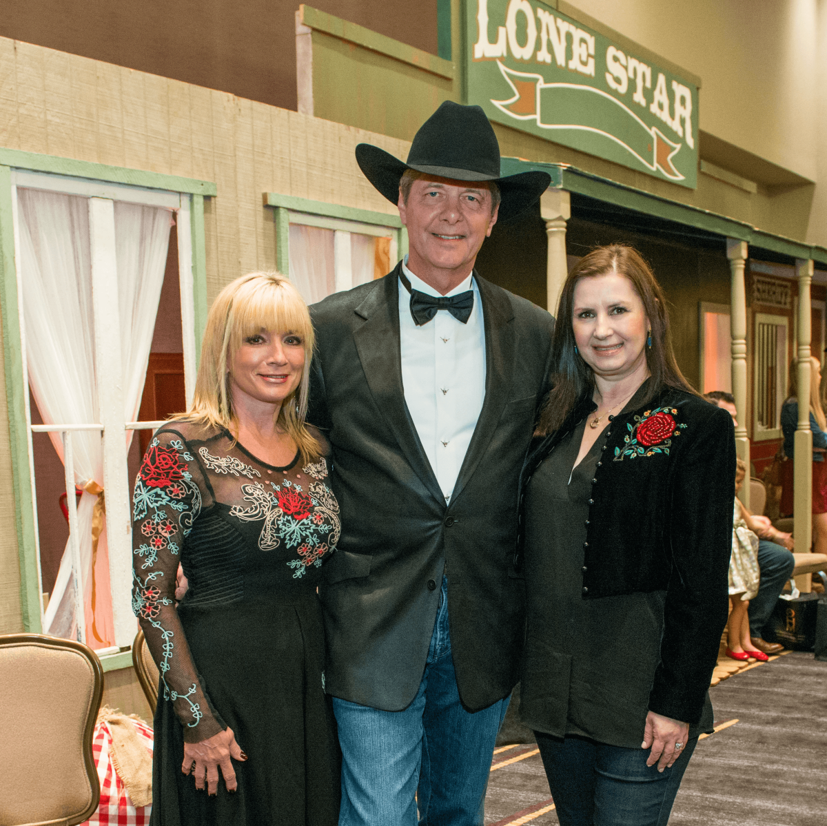 Wezy and Bobby Dees, from left, with Sylvia Forsythe at the Citizens for Animal Protection Gala November 2014