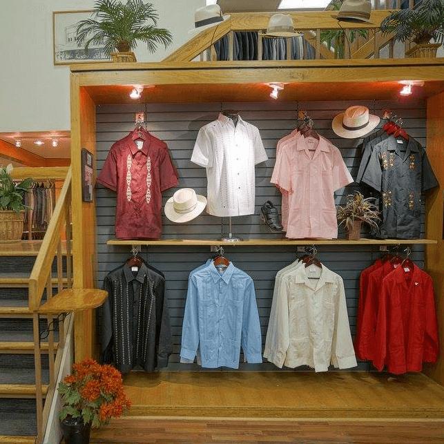 Penner's Inc San Antonio men's store guayaberas