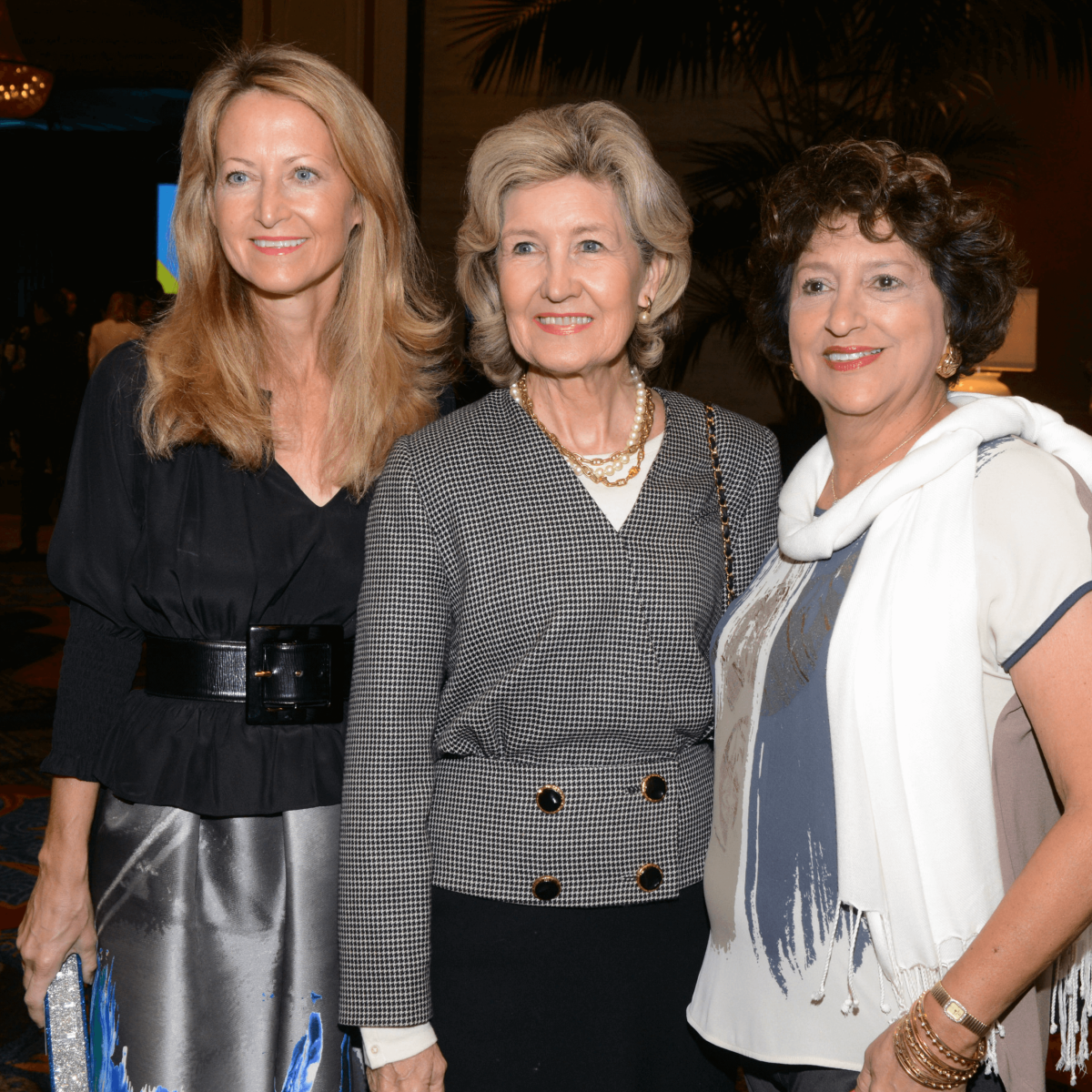 Lynn McBee, Senator Kay Bailey Hutchison, Laura V. Estrada
