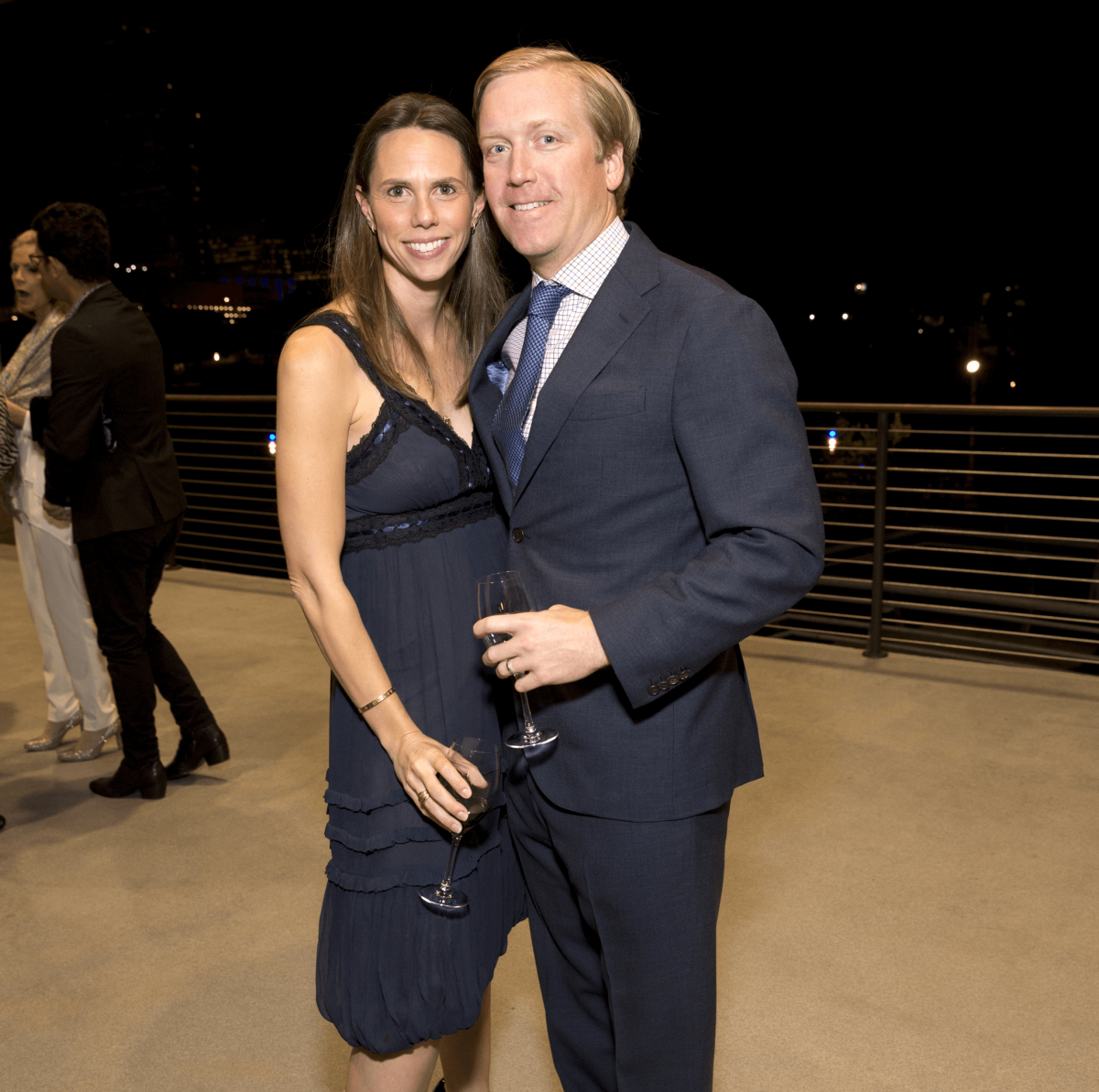 Houston, Buffalo Bayou Preservation gala, Nov. 2016,  Tennie Ott, David Ott