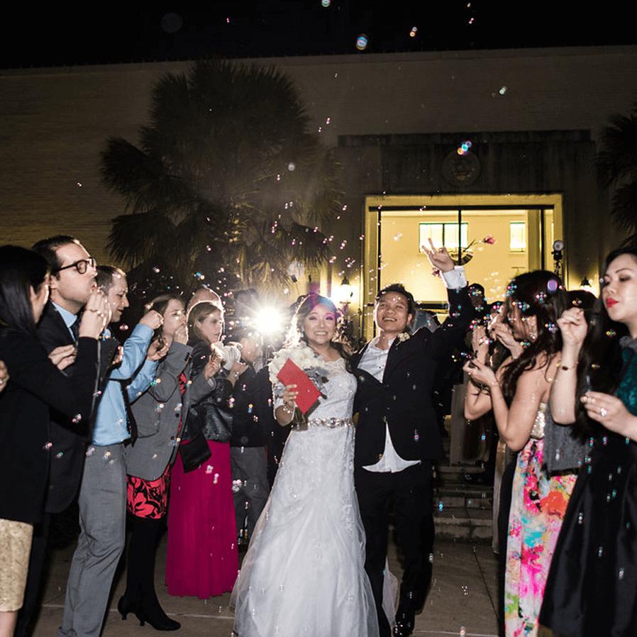 Sara + Hieu Real Weddings