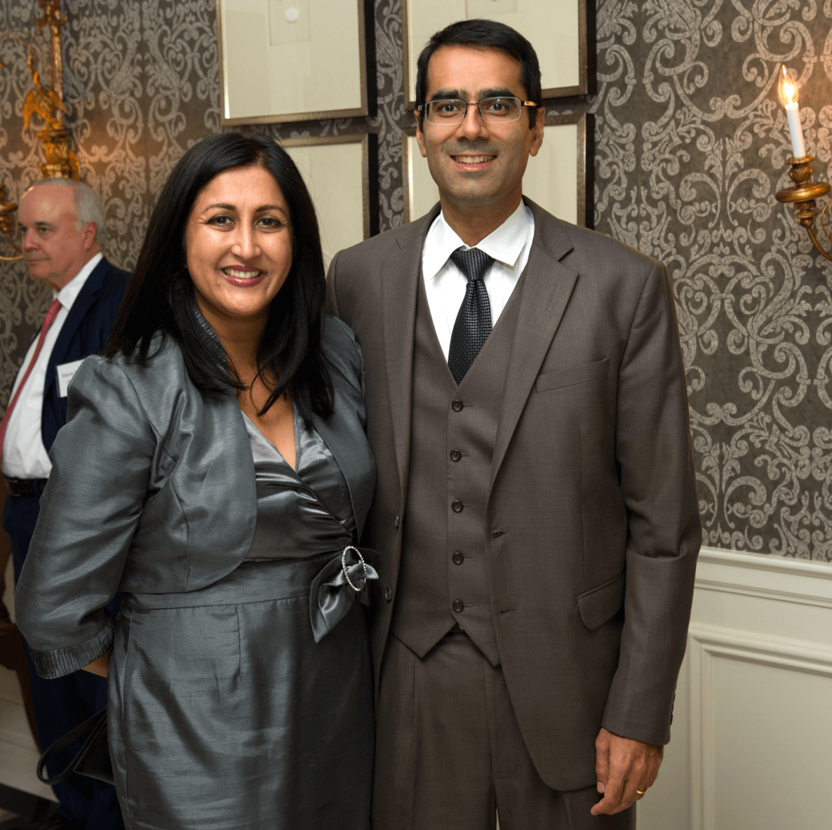 Houston, Legal Community's Harvest Celebration, Nov 2016, Sameera Mahendru, Ashish Mahendru