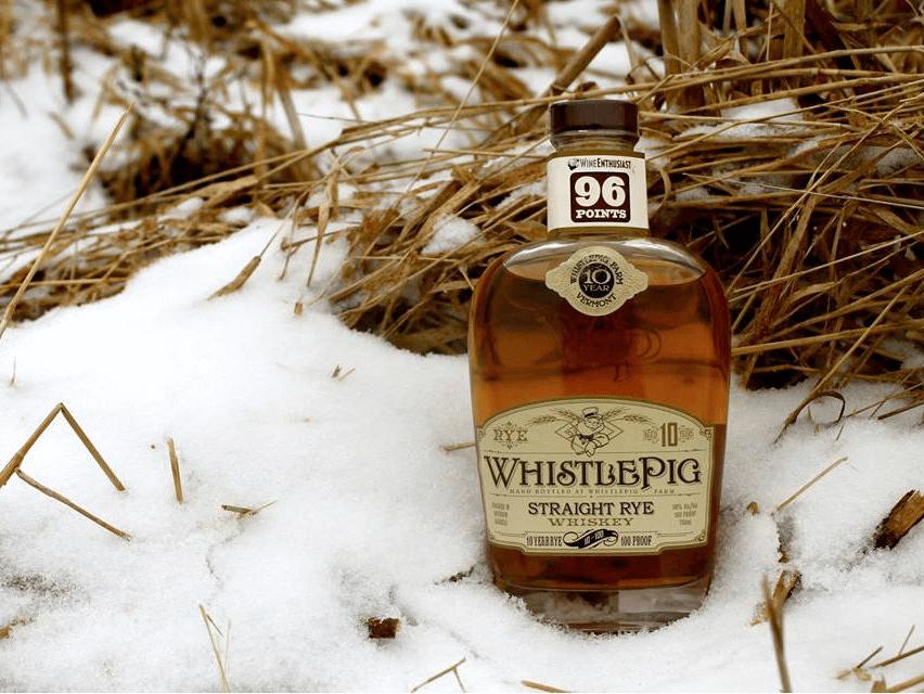 WhistlePig Straight Rye Whiskey