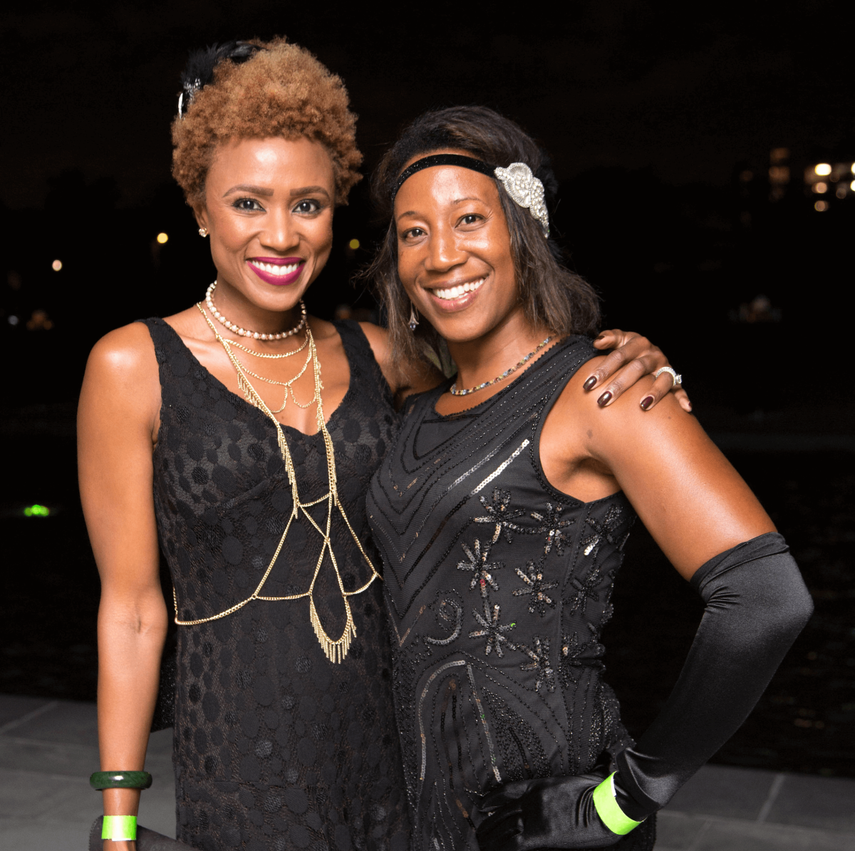 Houston, Urban Green's Gatsby in the Gardens, Nov 2016, Shavonnah Roberts-Schreiber, Deborah Fronza