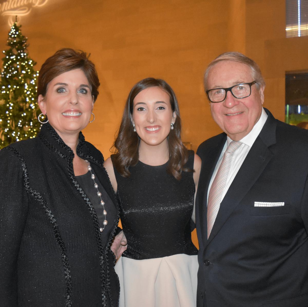 Lori, Hailey and Bill Bush