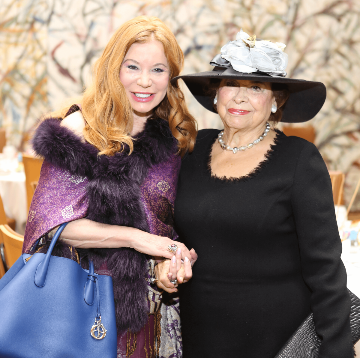 HGO Ball luncheon, March 2016, Cindi Rose, Olga Bush