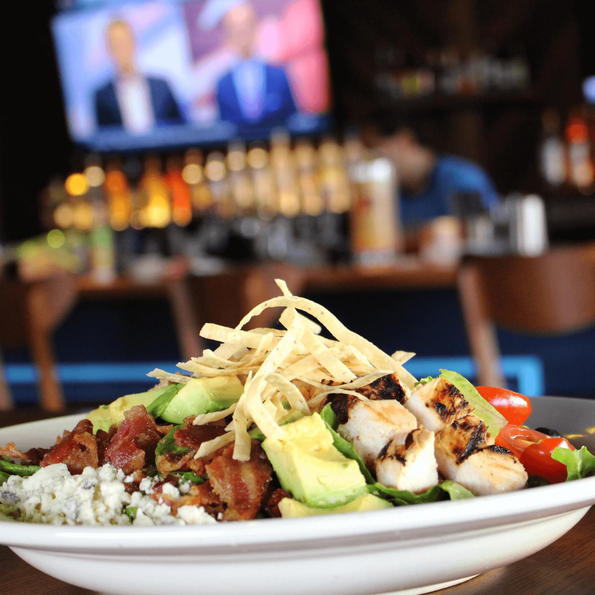 The Local Post restaurant bar Austin salad