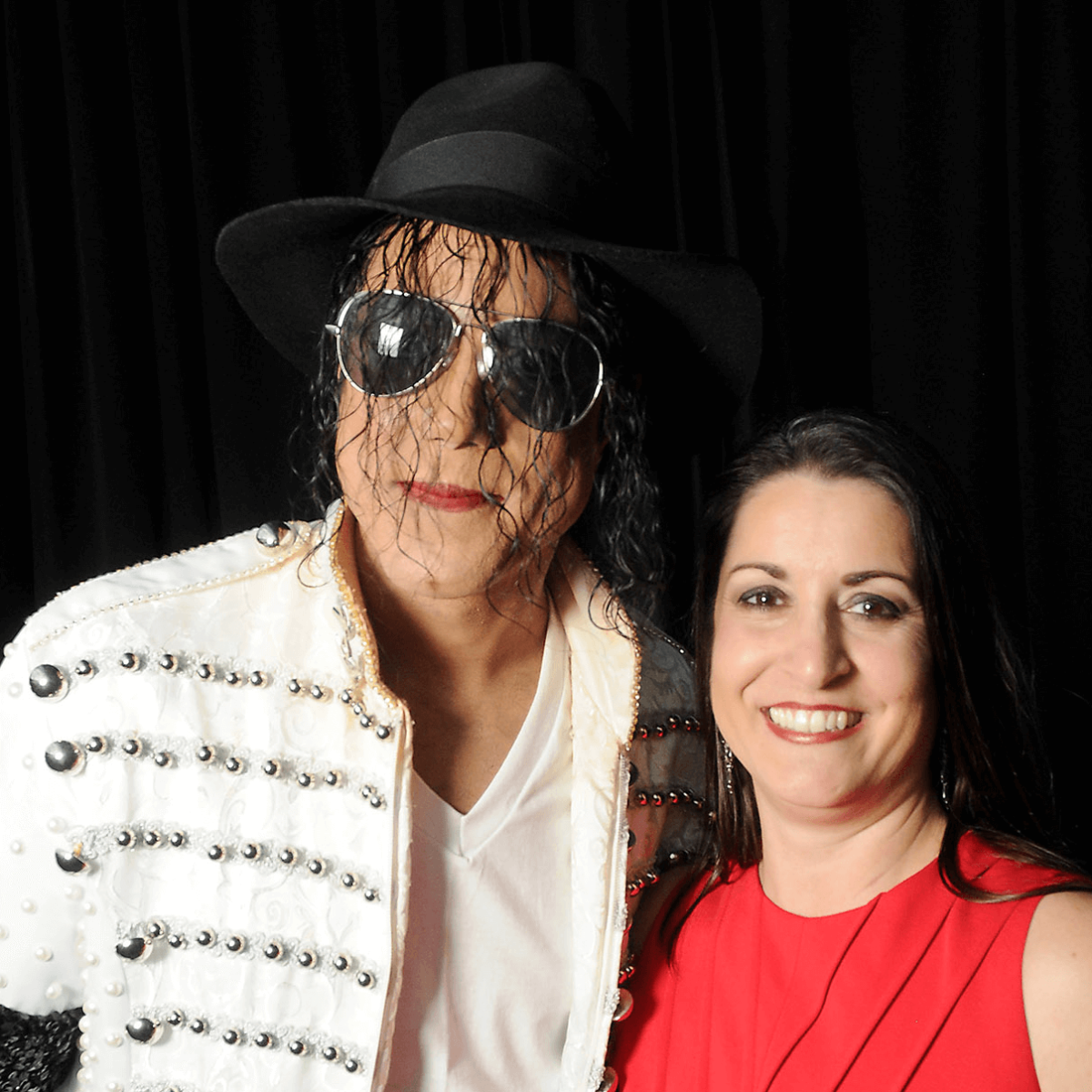 Smart Financial Centre opening, Michael Jackson impersonator Jason Jarrett, Heather Davis