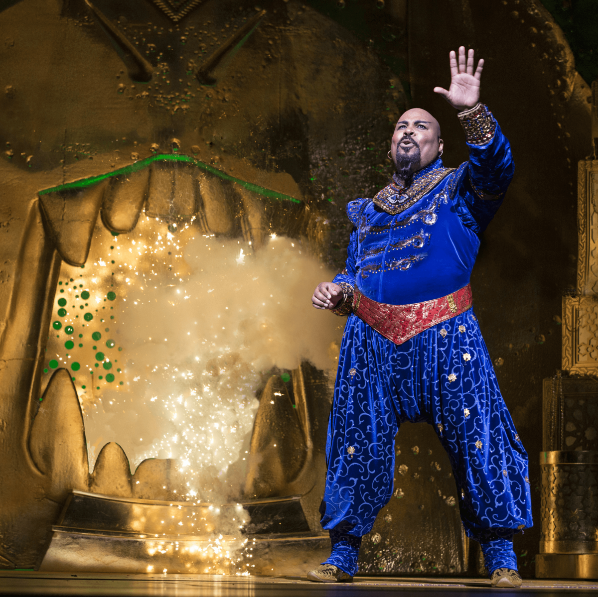 James Monroe Iglehart in Disney's Aladdin