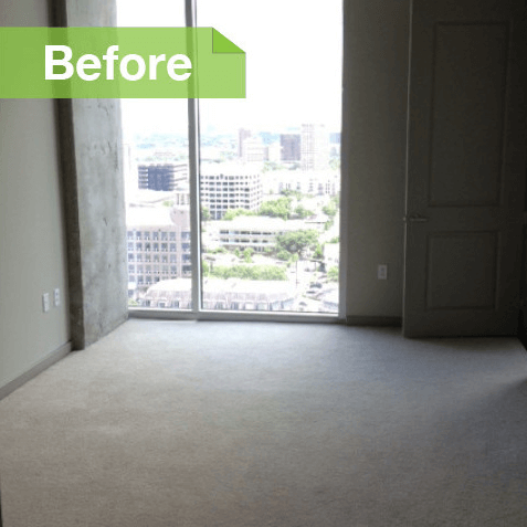 Dallas Uptown apartment Houzz transformed