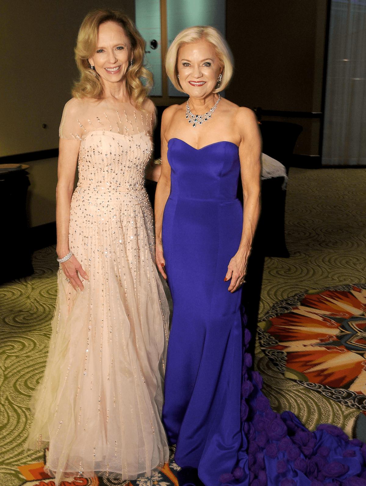 Houston, Winter Ball Women of Distinction, Feb 2017, Susan Sarofim, Jo Furr