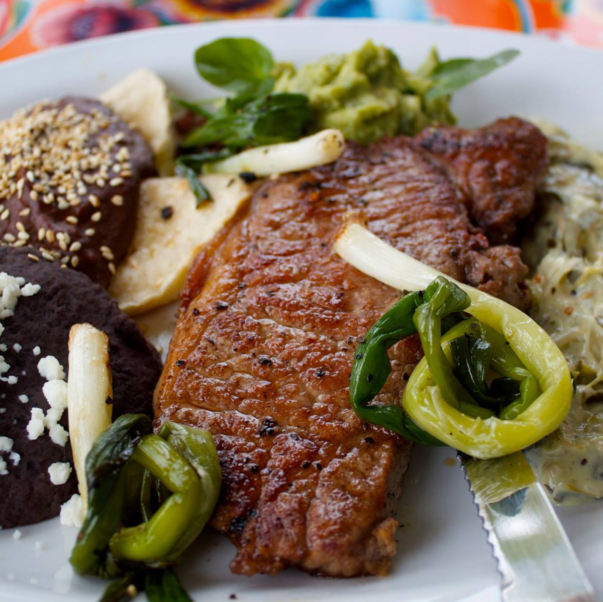 Licha's Cantina tampico steak