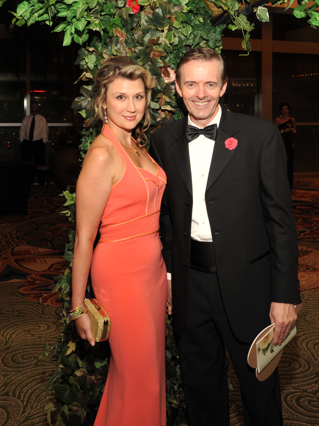 Houston, Heart Ball, Feb 2017, Yuliya Veratennikova, Dr. Daniel Penny