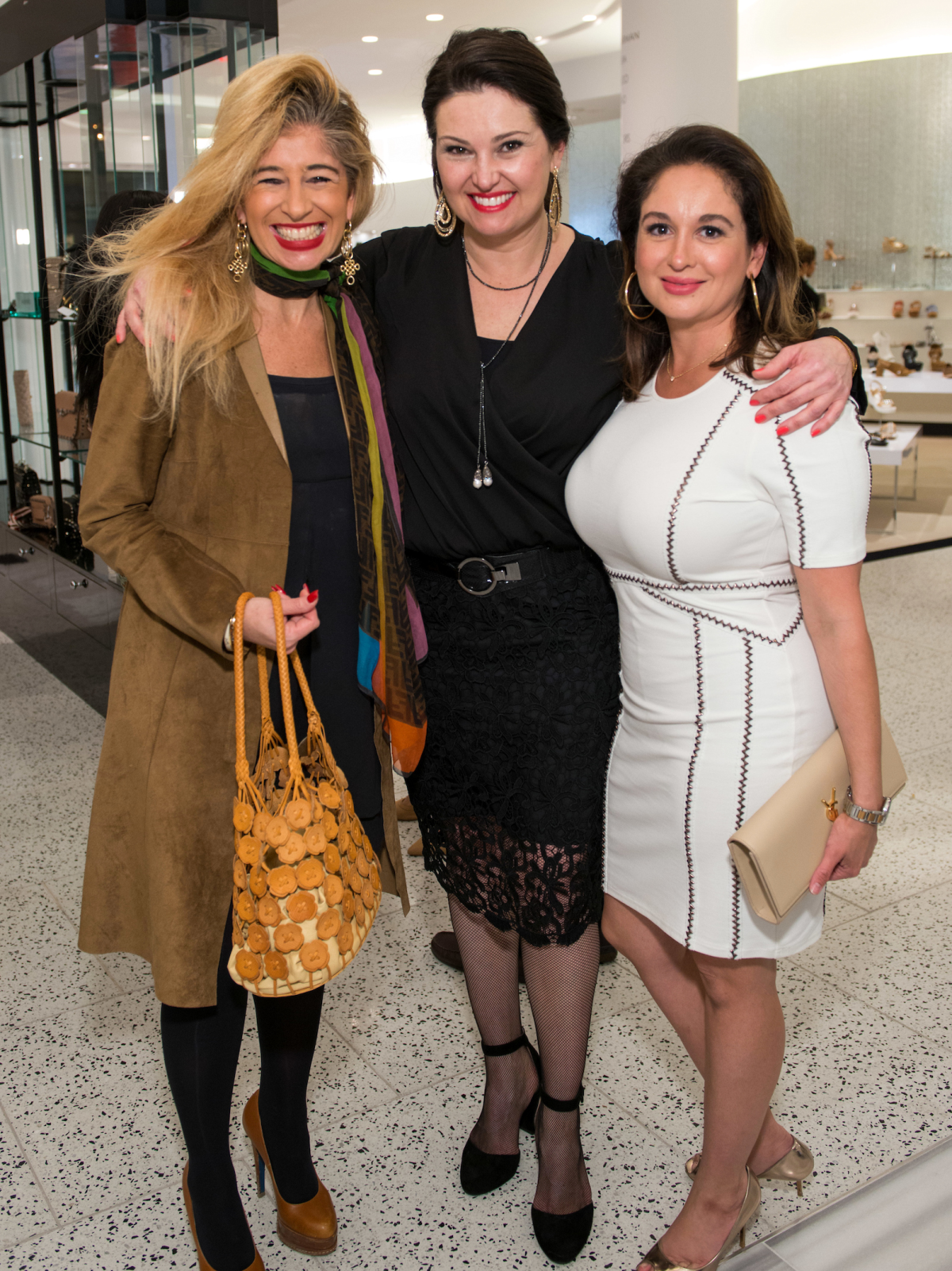 Houston, Latin Women's Initiative Fashion Show and Luncheon, feb 2017, Sofia Androgue, Claudia Lobao, Michelle Fraga