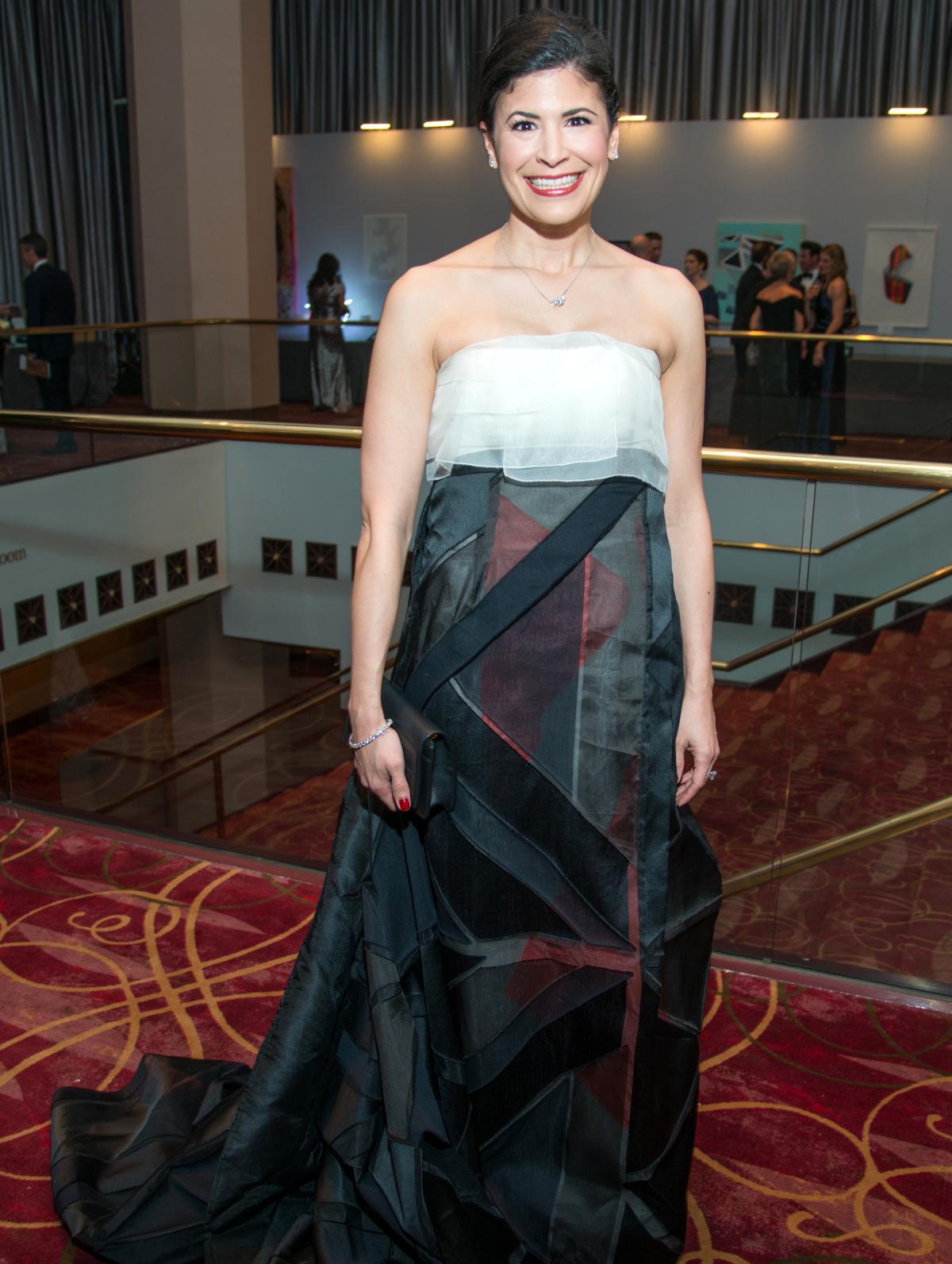 Houston, Ballet Ball gowns, Feb 2017, Kristy Bradshaw in Carolina Herrera